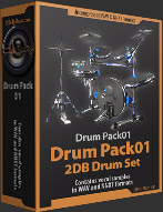 Drum Pack 01 Samples